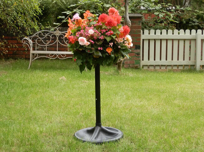 plantopia easy fill pedestal stands